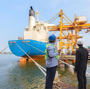 Commercial Ship Management Banner